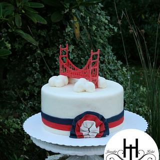 San Francisco  cake - Cake by Jennifer Holst • Sugar, Cake & Chocolate •