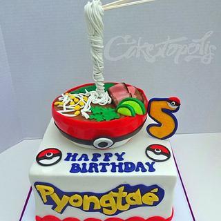Pokemon Pho Cake