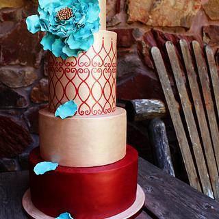 Valentino - Cake by Kendra