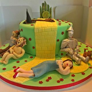 Wizard of Oz cake - Cake by Jules