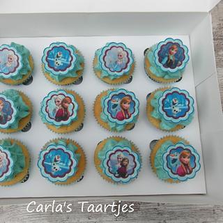 Frozen cupecakes
