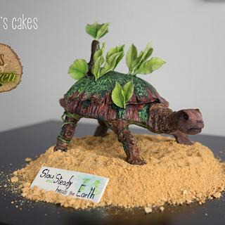 Acts of Green Collaboration - Cake by Mayer Rosales | mayer's cakes