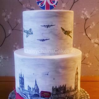 London and ww2 themed 90th