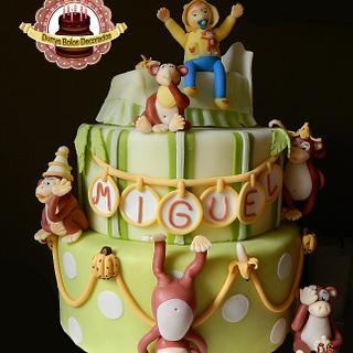 Monkey Cake - Cake by Durrysch Bolos Decorados