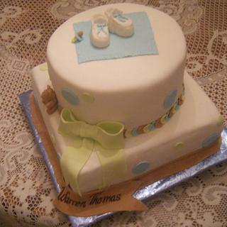 Warrens Baby Shower Cake