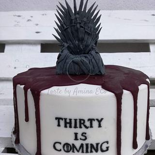 Thirty is coming...