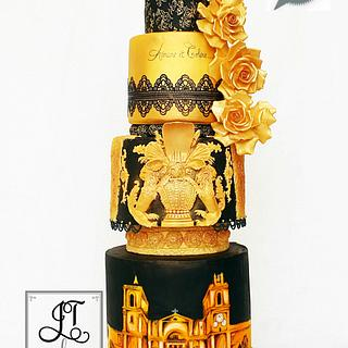 Wedding cake for DIY weddings Magazine
