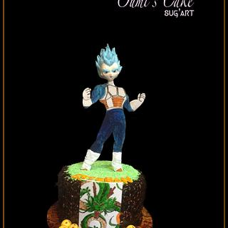 Vegeta's Cake Dragon Ball Z