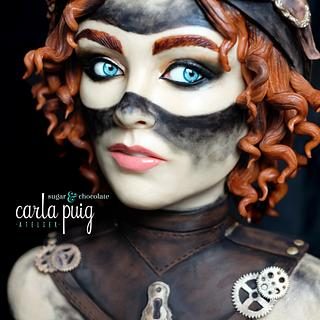 Steampunk Cakes Collaboration - Cake by Carla Puig