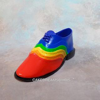 Shoe cake topper - Cake by Iris Rezoagli