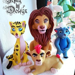 Simba and the lion guard