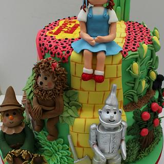 Wizard of Oz Cake- Gold winner from Cake International
