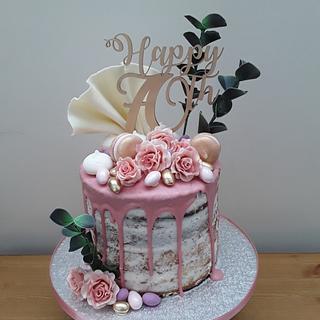A Drip Cake