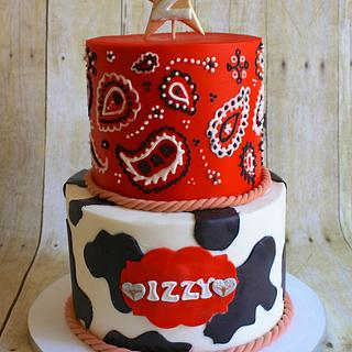 Ride 'em Cowgirl Cake - Cake by Cakes ROCK!!!
