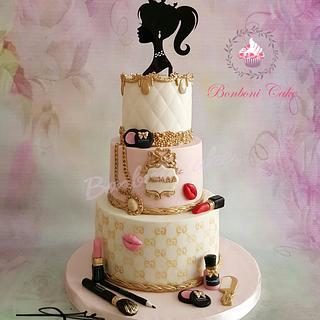 Makeup - Cake by mona ghobara/Bonboni Cake