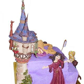 Tangled - Cake by figure.of.cake