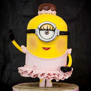 Minion Ballerina - Cake by Vanessa Rodríguez