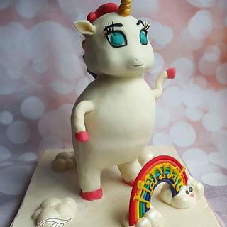 Elliot the flamboyant unicorn