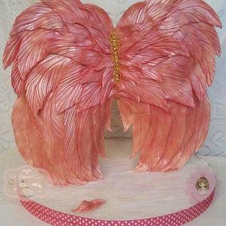 Angel wings for my beautiful baby Yasmine - Grace.