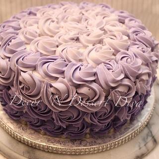 Purple Ombré Cake