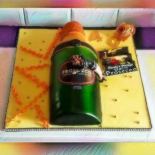Bottle cake