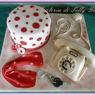 Vintage anni 60 - Cake by La Torteria di Polly Dì