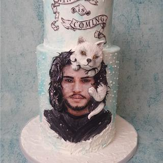 Winter is Coming - CakeFlix Collaboration - Cake by Bety'Sugarland by Elisabete Caseiro