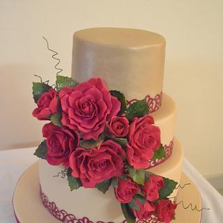 Eleganzzaa.. - Cake by Sheela