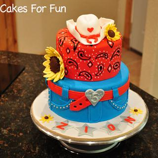 Cowgirl Birthday Cake - Cake by Cakes For Fun