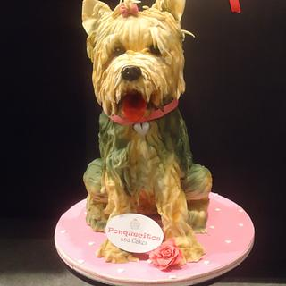 Sweet cake Dog - Cake by Marielly Parra