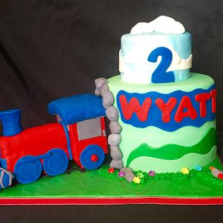 Train theme - Cake by John Flannery