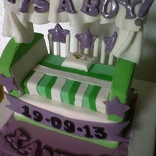 Baby box - Cake by Marissa's Sugar & Chocolate Art