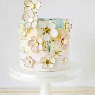 Watercolours  - Cake by Cake Heart