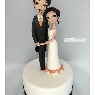 Wedding Cake - Cake by IlMondodiDorina
