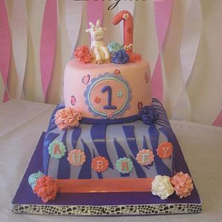 1st birthday cake - Cake by Heather