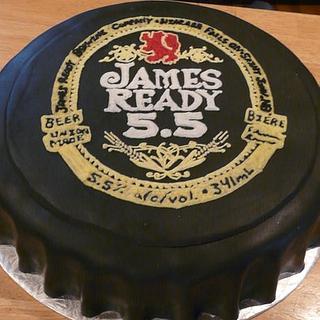 James Ready Beer cap