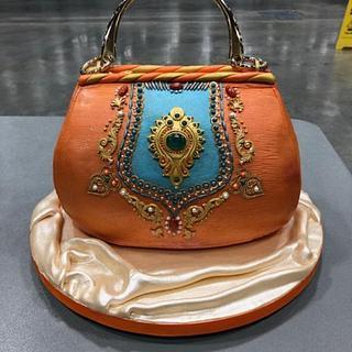 Purse cake - Cake by Patricia M