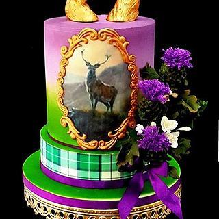 Highland Fling - Cake by Amelia Rose Cake Studio