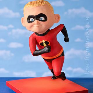 Dash from The Incredibles - Cake by Lovin' From The Oven