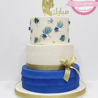 Hijab cake