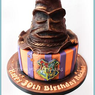 Harry Potter Sorting Hat Birthday Cake