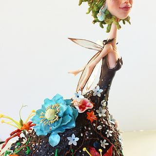 Flower Fairy Cake - Cake by SweetKOKEKO by Arantxa