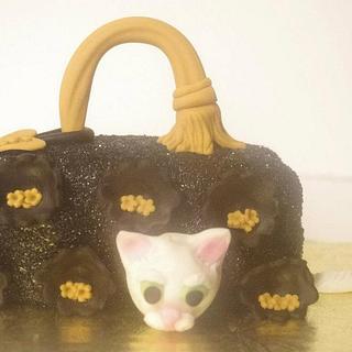 Mini Witches Bag Cake