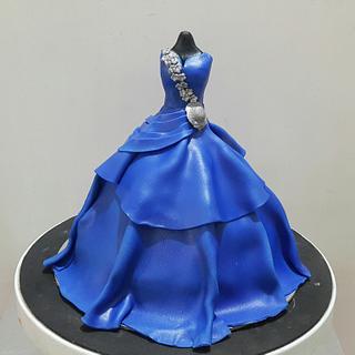Royale Blue - Cake by Urvi Zaveri