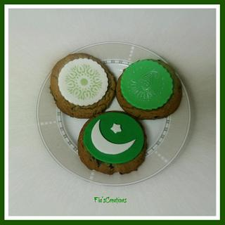 Pakistan Independence Day Cookies
