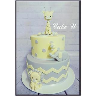 Baby Shower Cake - Cake by Veronica - @cakeuvee