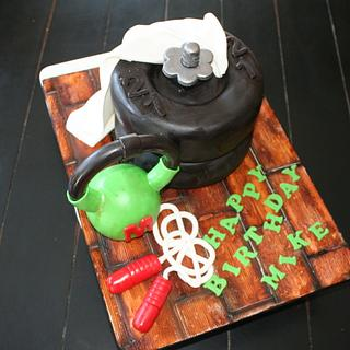 Work out cake
