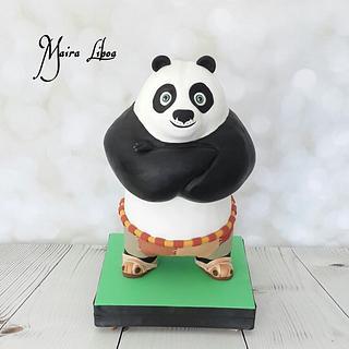 Kung Fu Panda - Cake by Maira Liboa
