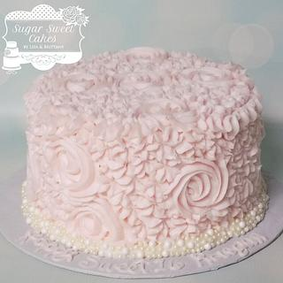 Roses & Pearls - Cake by Sugar Sweet Cakes