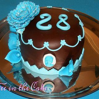 Mon gâteau d'anniversaire - Cake by lafeeinthecake